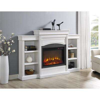 Robinside Mantel Fireplace in White