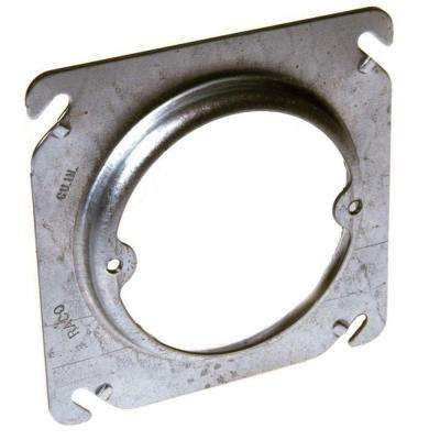 4 in. Square Fixture Cover, Raised 1 in. (25 Pack)