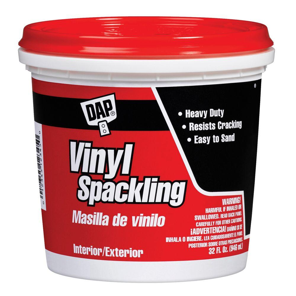 Dap 32 Oz Ready To Use Vinyl Spackling In White 6 Pack 7079812132 The Home Depot