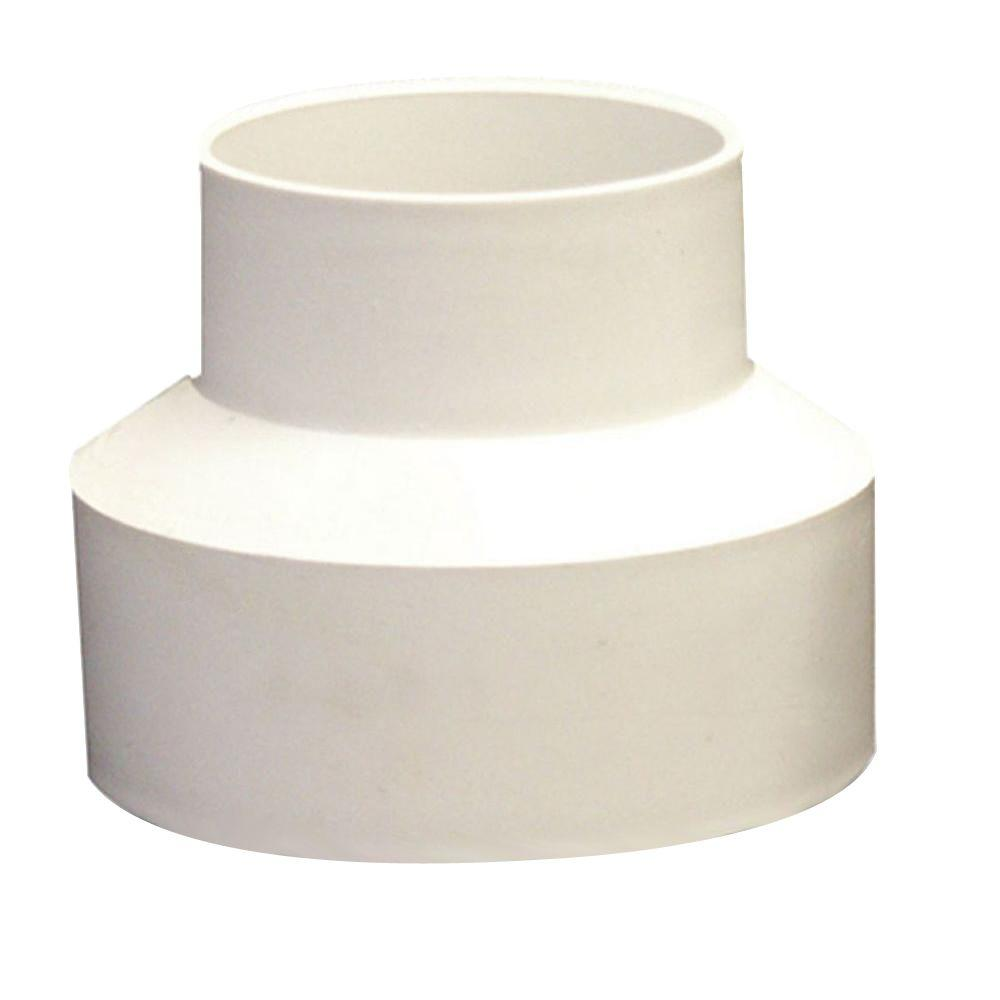 NDS 3 in. x 4 in. PVC DWV to Sewer and Drain Adapter