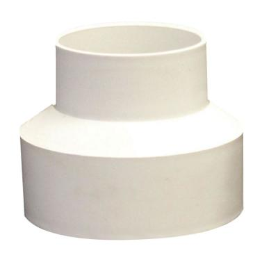 3 in. x 4 in. PVC DWV to Sewer and Drain Adapter