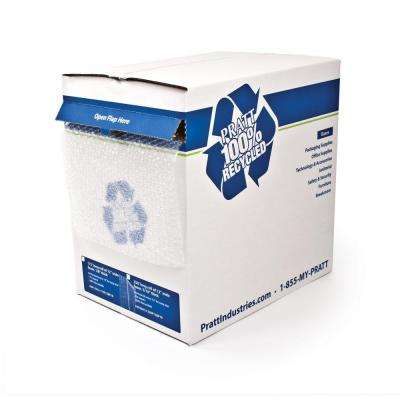 1/2 in. x 24 in. x 50 ft. Perforated Bubble Cushion Dispenser Box