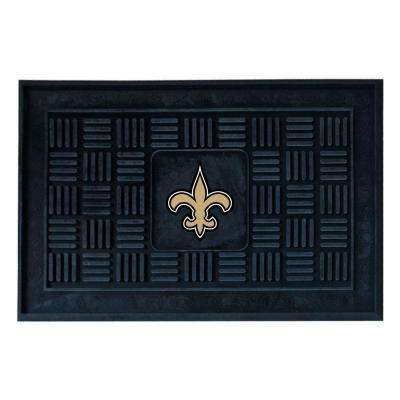 New Orleans Saints 18 in. x 30 in. Door Mat