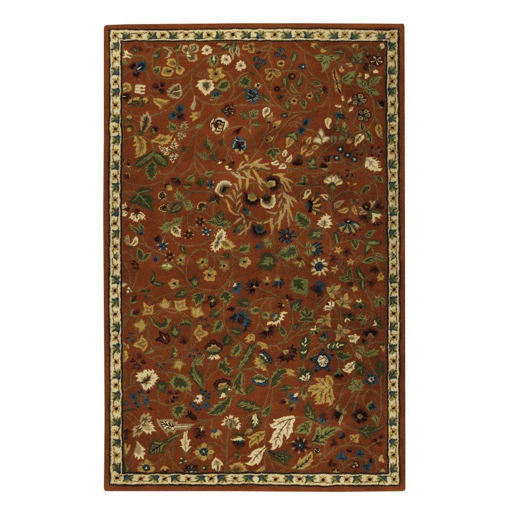 Home Decorators Collection Dampier Spice 5 ft. 3 in. x 8 ft. 3 in. Area Rug