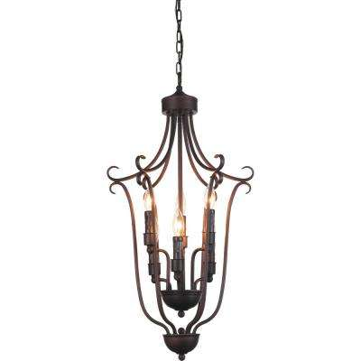 Maddy 6-Light Oil Rubbed Brown Chandelier