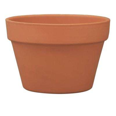 8 in. Terra Cotta Clay Azalea Pot