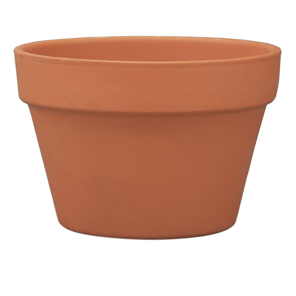 Pennington 8 in. Terra Cotta Clay Azalea Pot