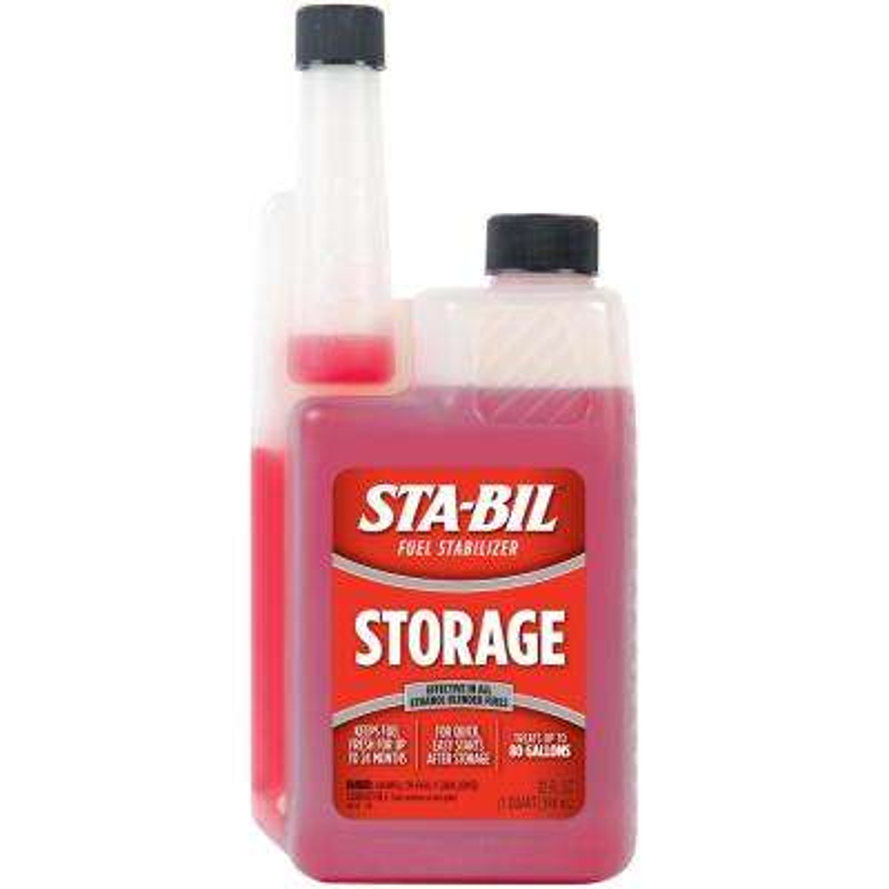STA-BIL Storage Fuel Stabilizer 32 oz. Treats80 Gallons of Fuel