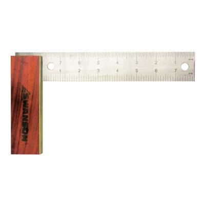 8 in. Try Square with Hardwood Handle