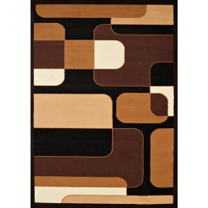 United Weavers Caf Breakfront Brown 1 ft. 10 inch x 3 ft. Accent Rug by United Weavers