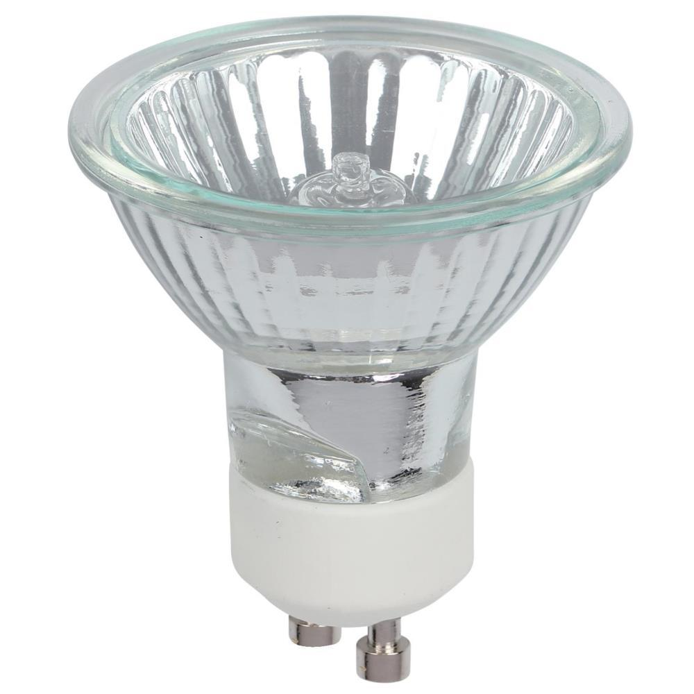 50-Watt Halogen MR16 Clear Lens GU10 Base Flood Light Bulb (3-Pack)