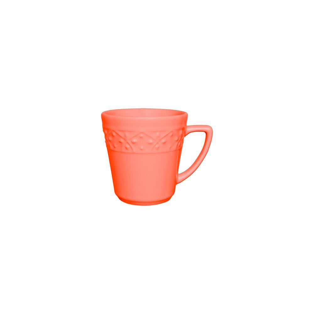 Manhattan Comfort Mendi 12.17 oz. Coral Earthenware Mugs (Set of 6), Pink was $69.99 now $34.98 (50.0% off)