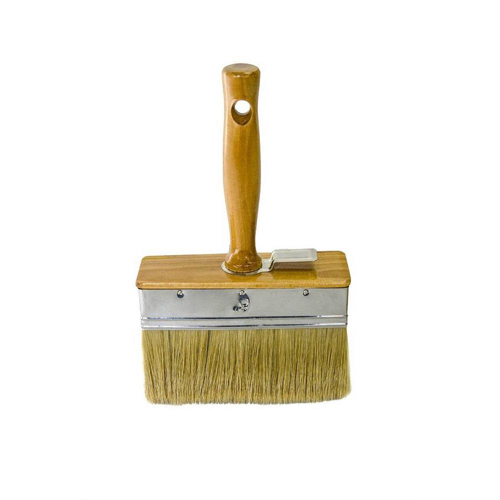 e5addeea08b Bon Tool 6 in. x 2 in. Wood Handle Plaster Brush with White China ...