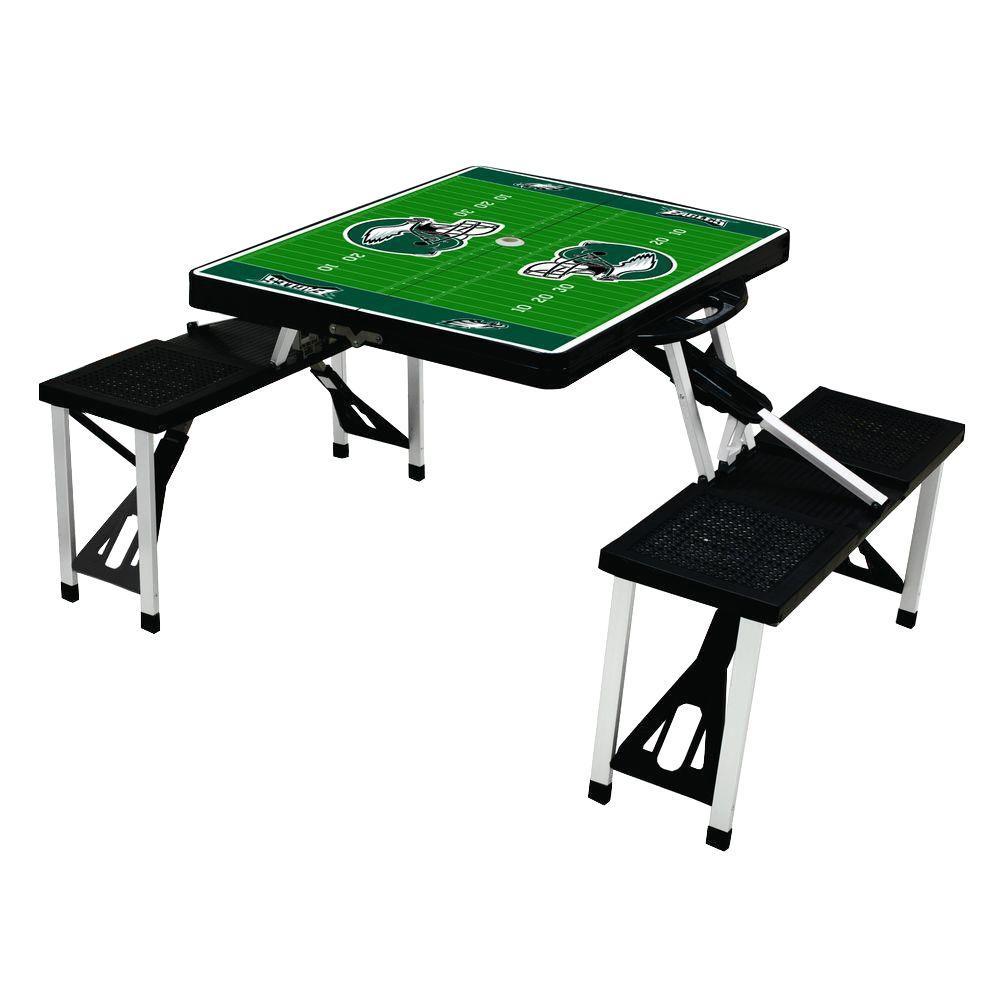 Philadelphia Eagles Sport Plastic Outdoor Patio Picnic Table