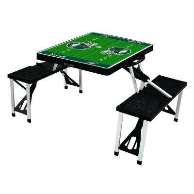 Philadelphia Eagles Sport Plastic Outdoor Patio Picnic Table