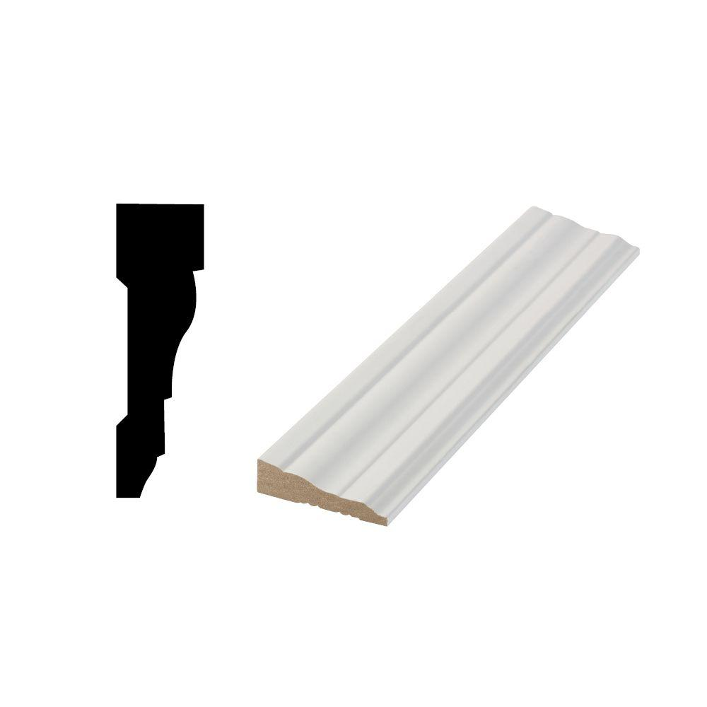LWM 366 1/2 in. x 2-1/4 in. Primed Medium Density Fiberboard