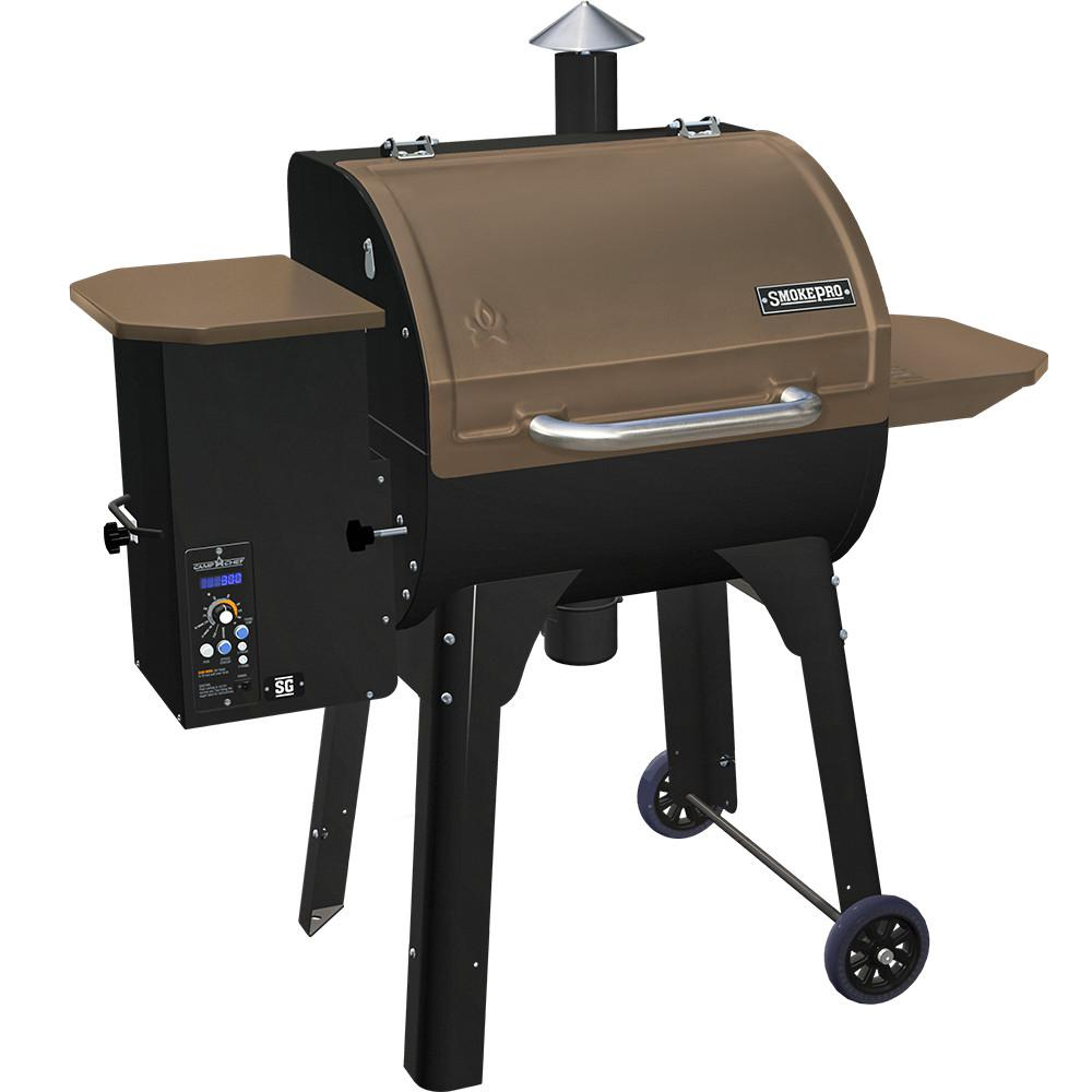 SmokePro SG Pellet Grill in Bronze