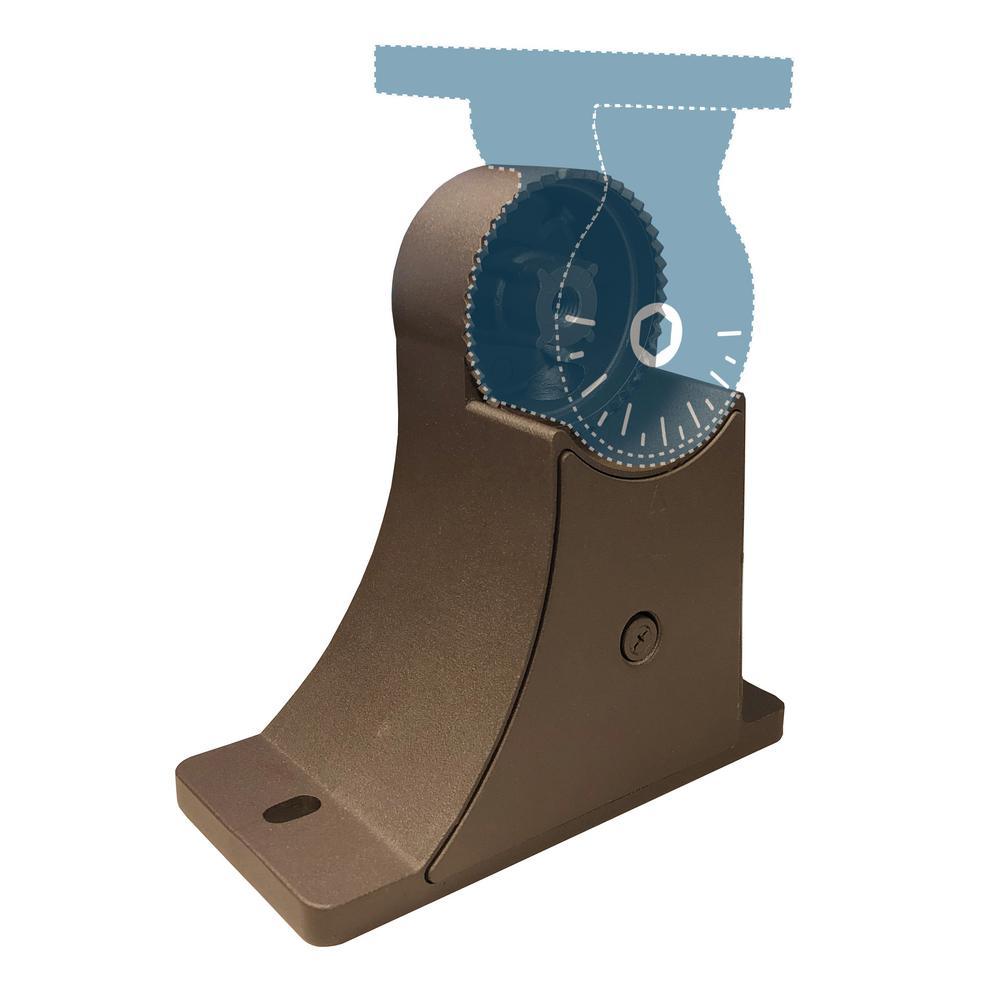 Aquila Bronze Square Pole Adjustable Mounting Arm