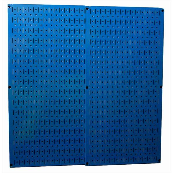 Wall Control 32 In  X 32 In  Overall Size Blue Metal