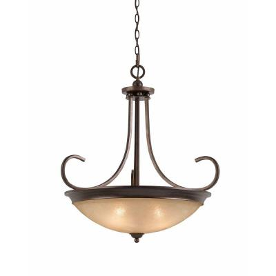 Purelife 4-Light Bronze Pendant