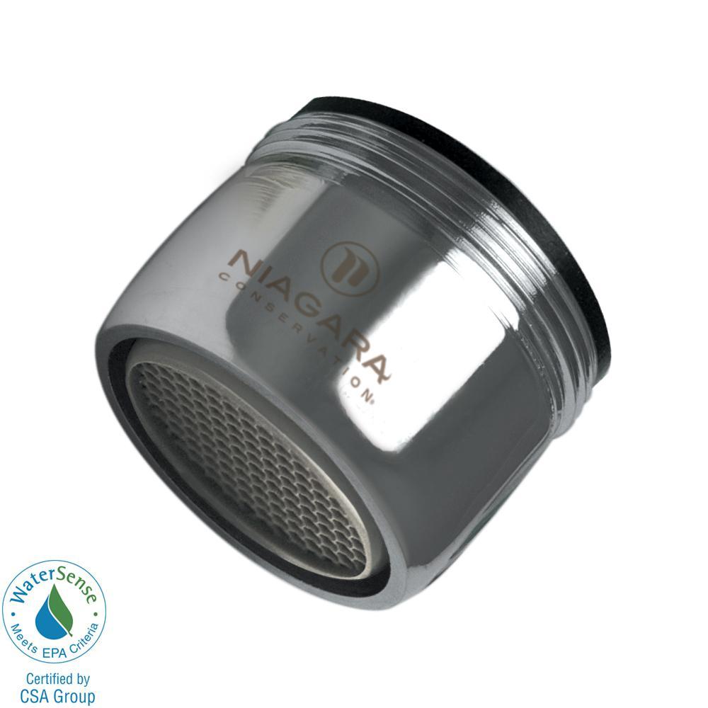 Niagara Conservation Niagara Conservation 1.5 GPM Dual Thread Aerator (6-Pack), Grey