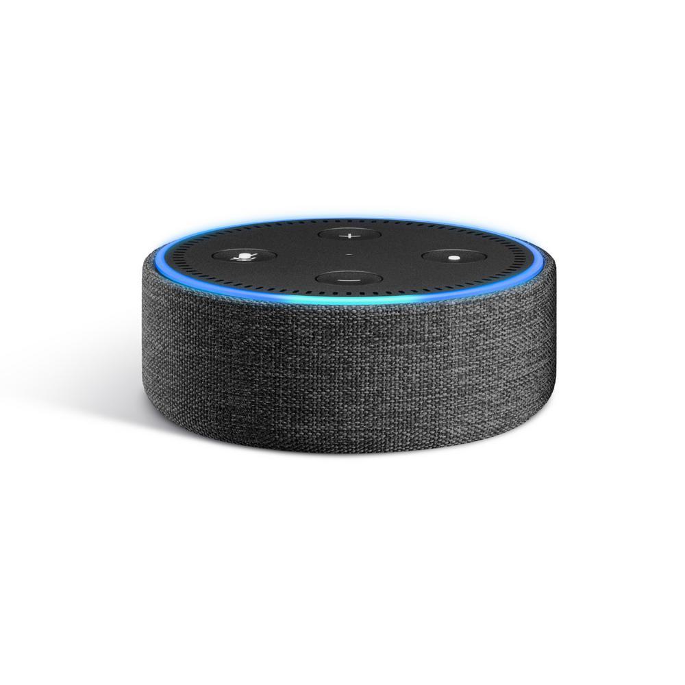 Echo Dot Fabric Case, Dark Charcoal