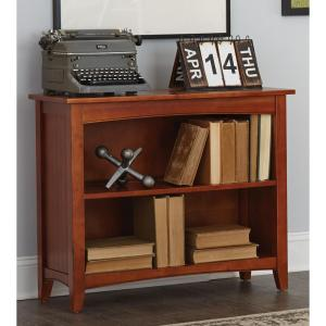 Shaker Cottage Cherry Open Bookcase