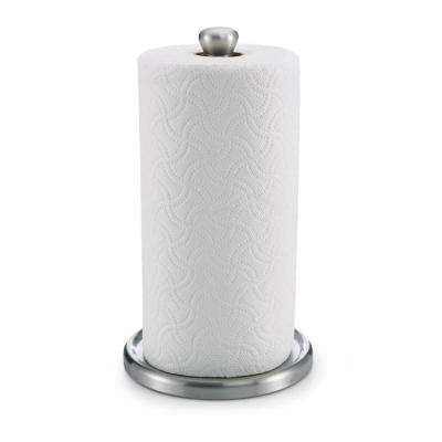Single Tear Paper Towel Holder in Silver