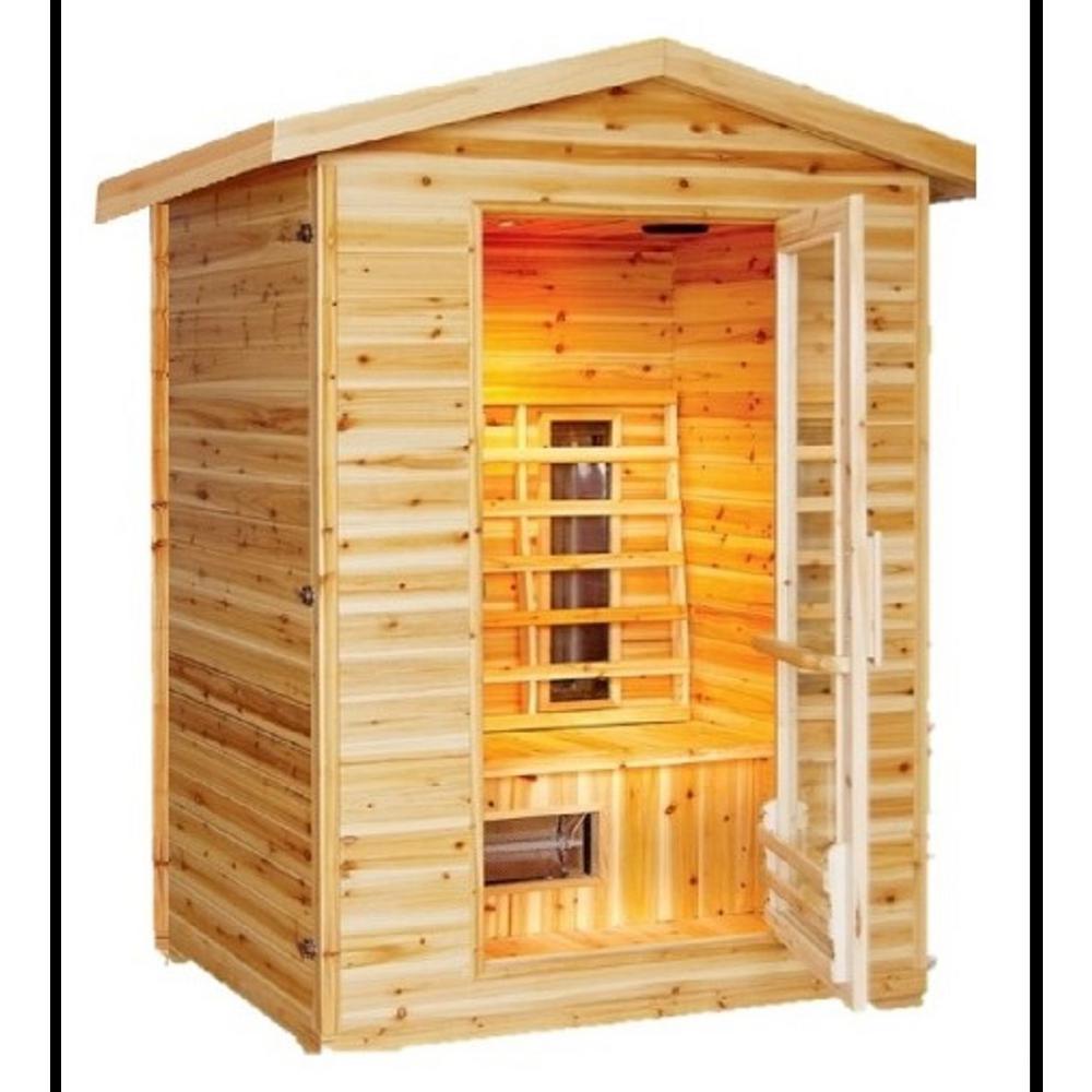 Burlington 2-Person Outdoor Infrared Sauna