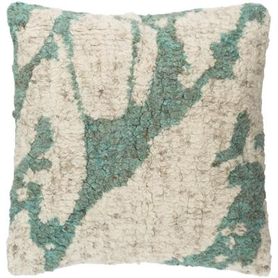 Pensbury Green Graphic Polyester 20 in. x 20 in. Throw Pillow