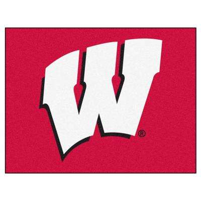 University of Wisconsin 3 ft. x 4 ft. All-Star Rug