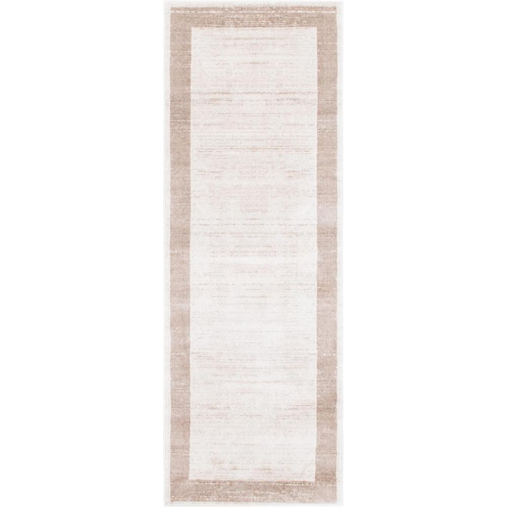 "Uptown Collection by Jill Zarin Beige 2'2"" x 6' Runner Rug"