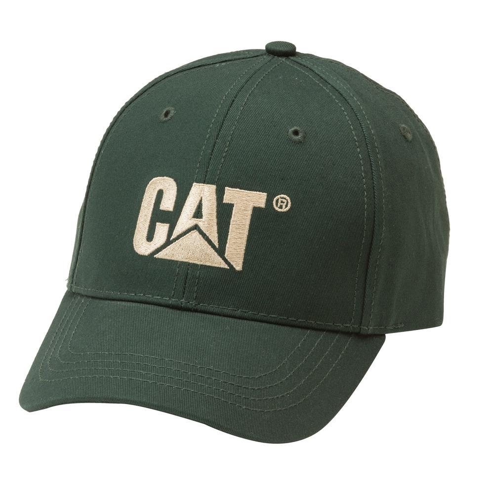 Trademark Men's One Size Forest Green Cotton Canvas Cap Headwear