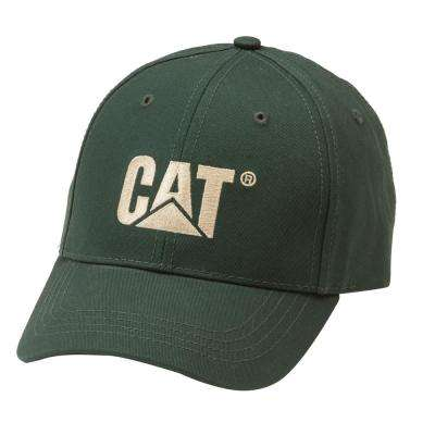 Trademark Men's One Size Forest Green Cotton Canvas Cap Headwear