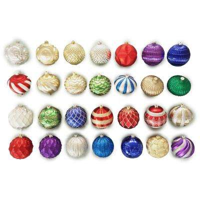 6 in. Assorted Shatter-Resistant Ornament