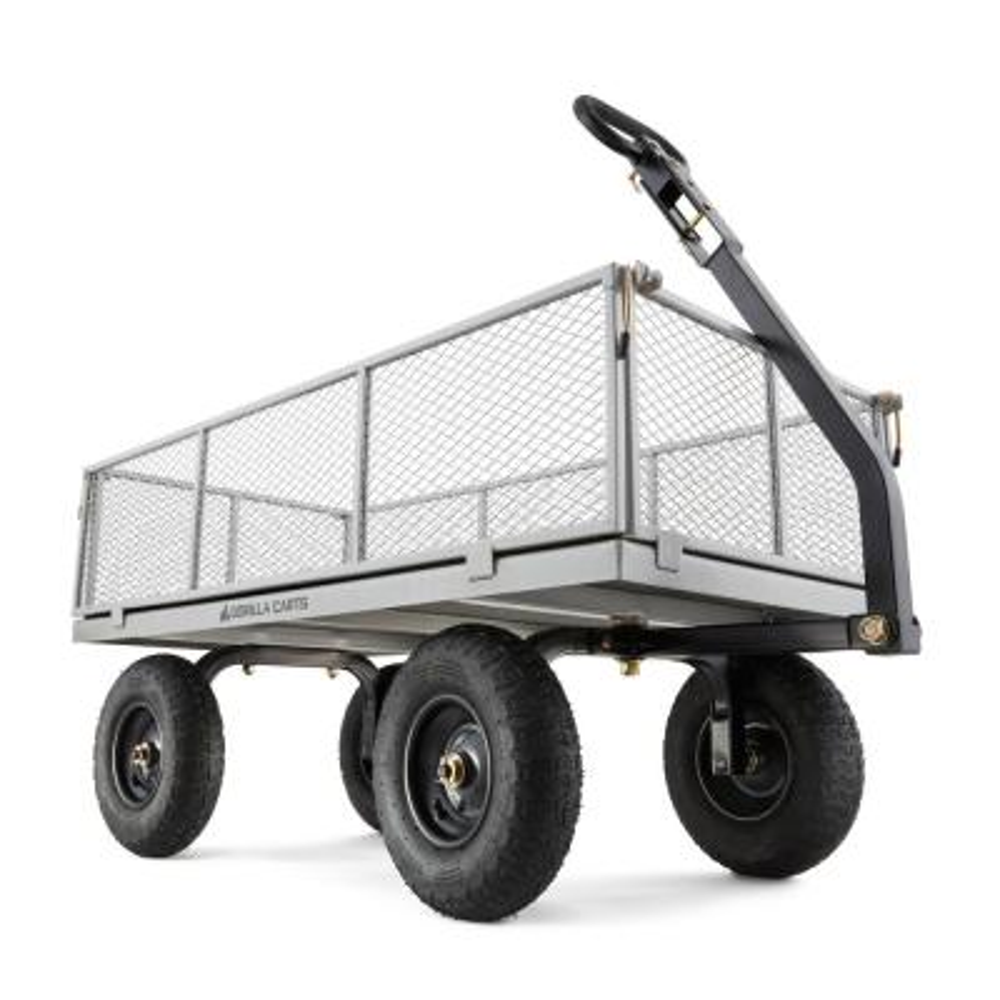 1,000 lb. Heavy-Duty Steel Utility Cart