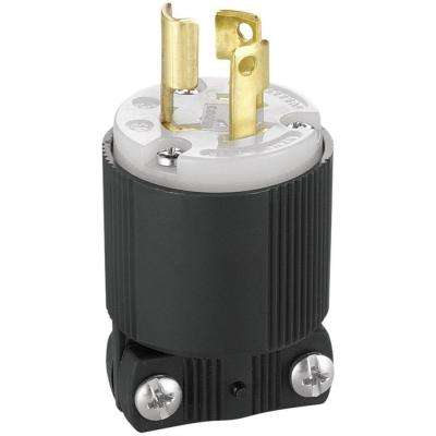 15 Amp 277-Volt/AC L7-15 Safety Grip Plug and Connector