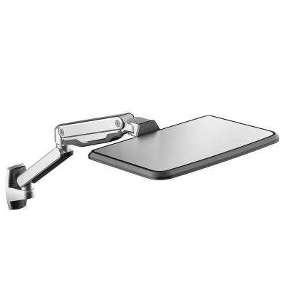 Sit Stand Workstation Height Adjustment Laptop Mount Arm for 10 in. - 17 in. Notebook MacBook Air and Pro
