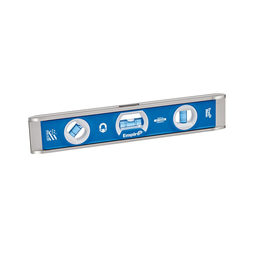 True Blue 10 in. Rare Earth Magnetic Torpedo Level