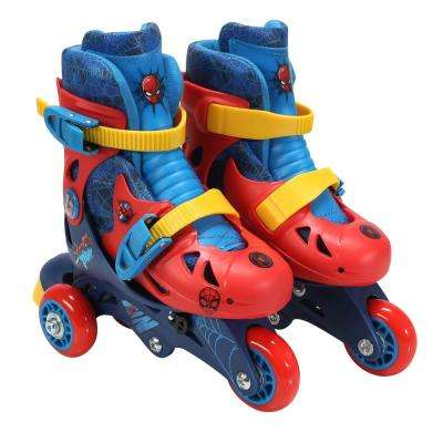 Spider-Man Junior Size 6-9 Convertible Roller Skates
