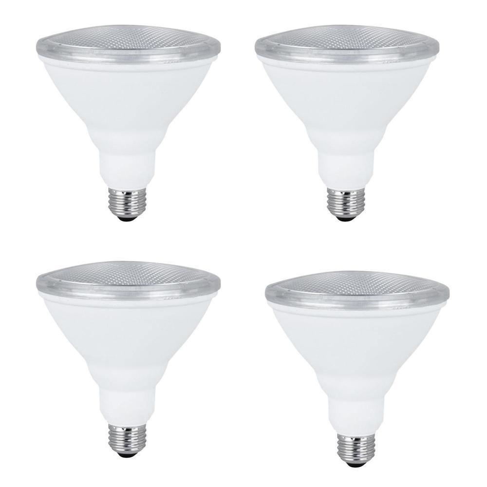 Feit Electric 75W Equivalent Warm White (3000K) PAR38 LED Light Bulb Maintenance Pack (4-Pack)