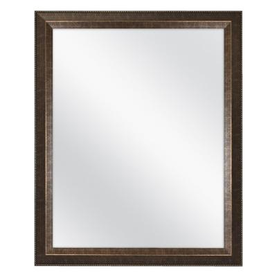 32 in. W x 26 in. H Framed Rectangular Anti-Fog Bathroom Vanity Mirror in Antique Bronze Finish