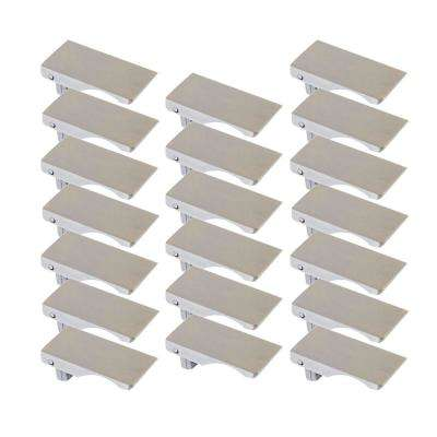Verge .68 in. Brushed Nickel Cabinet Pull Value Pack (20 per Box)