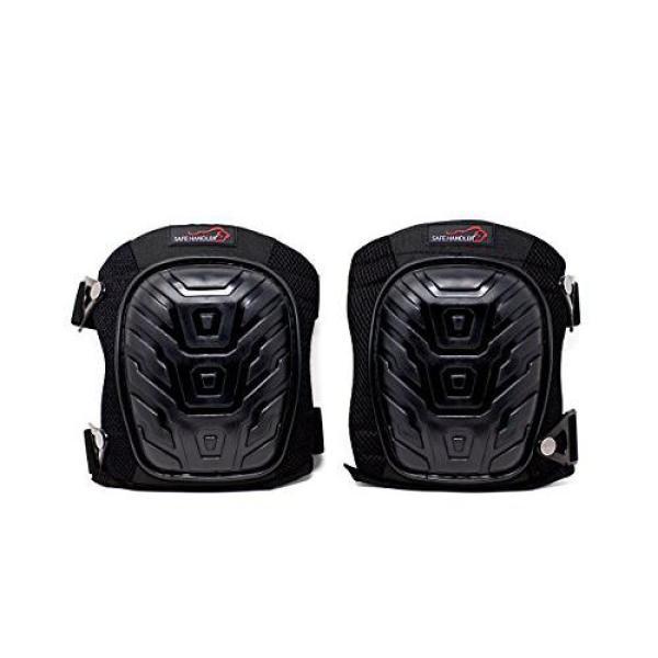 Safe Handler Professional Breathable Crystal Gel Knee Pads Blsh Hd Pvc Kp The Home Depot