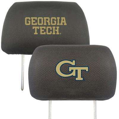NCAA Georgia Tech Embroidered Head Rest Covers (2-Pack)