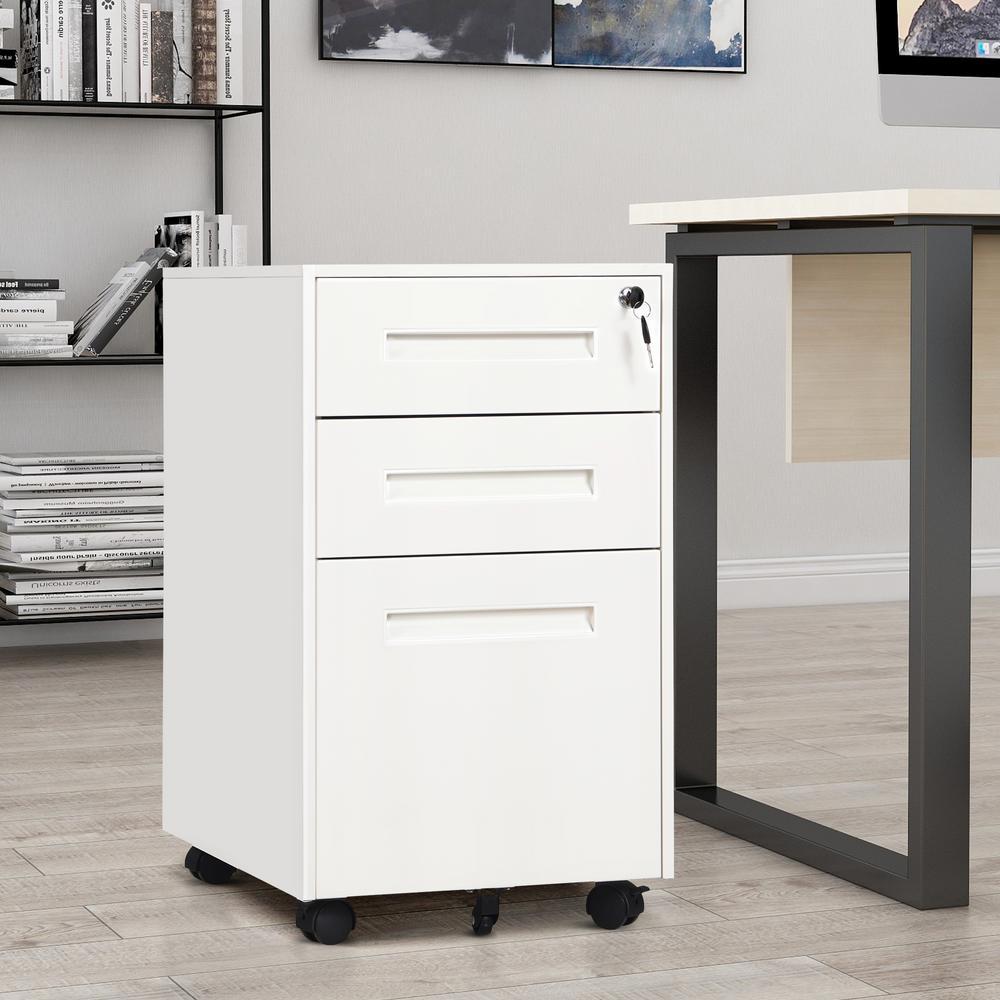 LQ File Cabinet 4 Layers Woody Desktop Storage Rack Office Supplies Filing Cabinets Folder