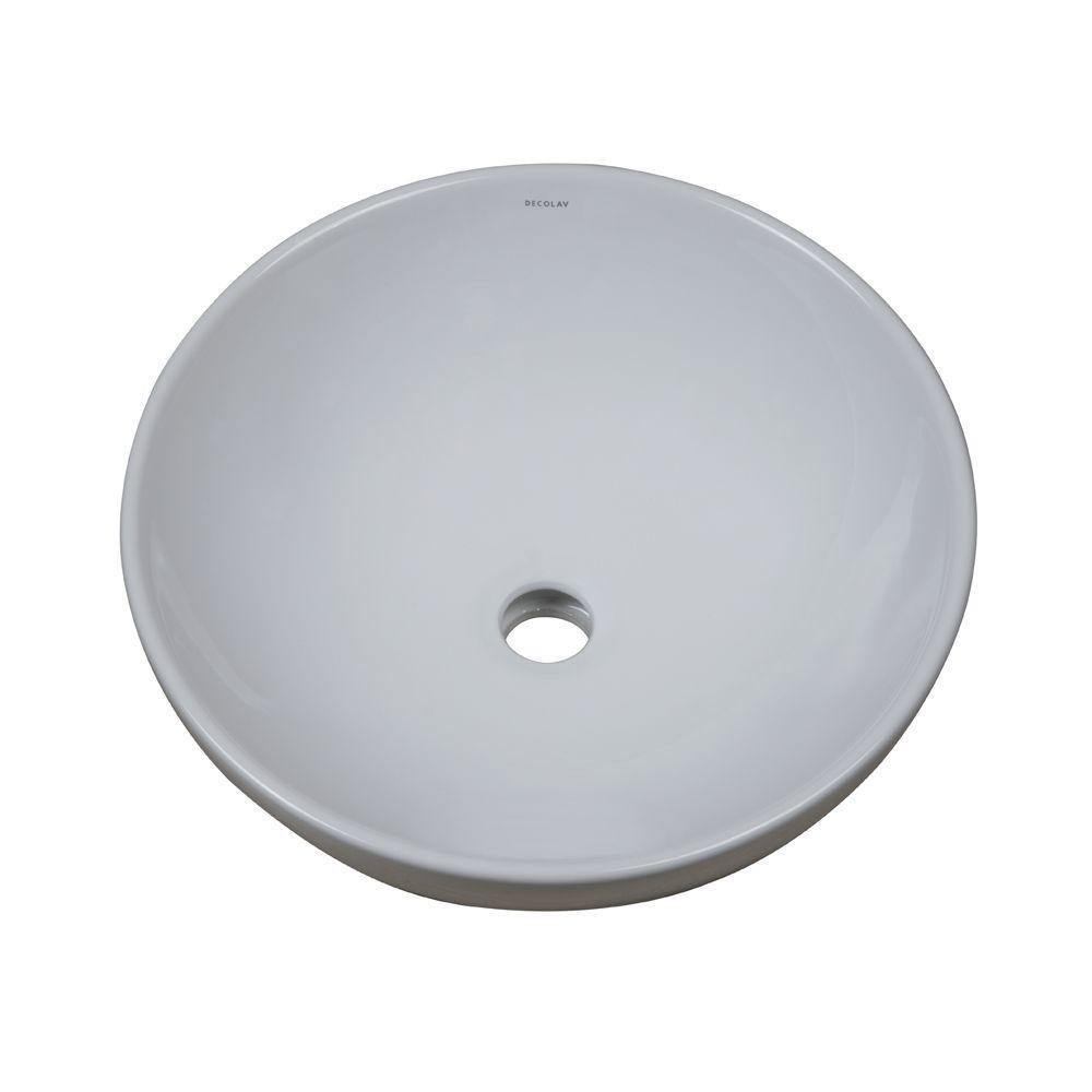 Kohler Vox Round Above Counter Vitreous China Bathroom