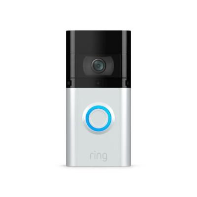 1080P HD Wi-Fi Wired and Wireless Video Doorbell 3 Plus, Smart Home Camera, Removable Battery, Works with Alexa