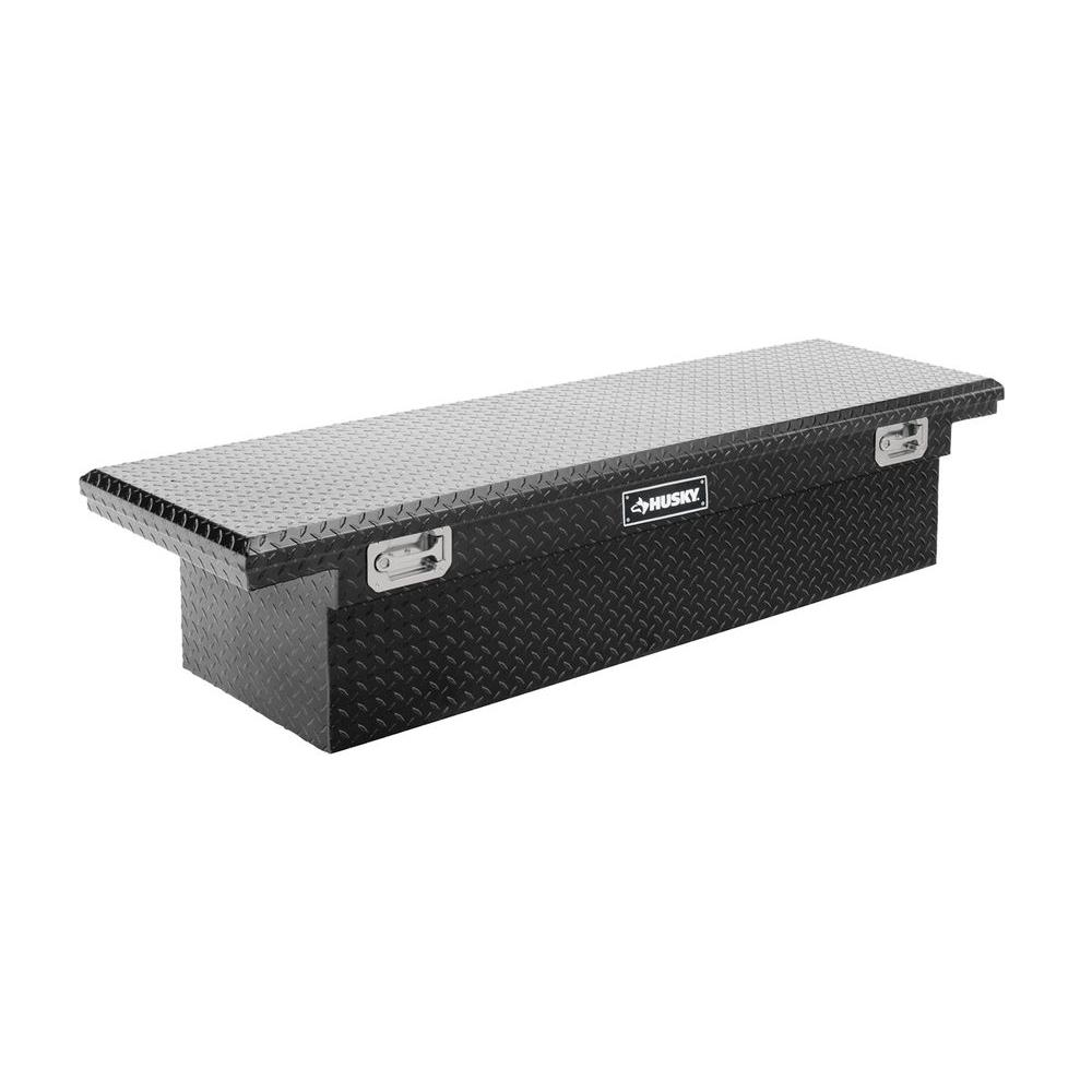 Topsider black low profile truck box