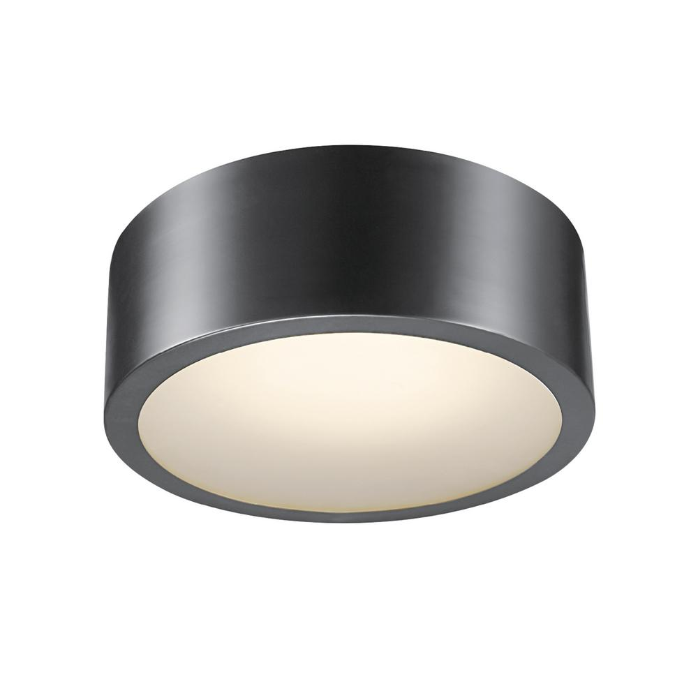 Globe Electric Edinburg Black Iron Led Integrated
